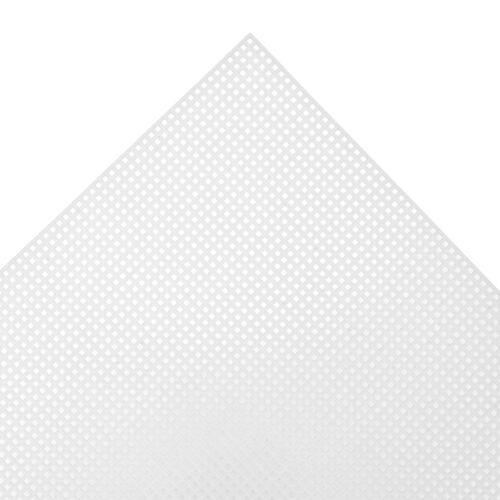 12x Plastic Canvas 10 Mesh Rectangle 26x33.5cm 12 Sewing Craft Tool Art