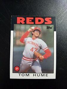 1986 Cincinnati Reds - Near Mint - Topps #573 Tom Hume