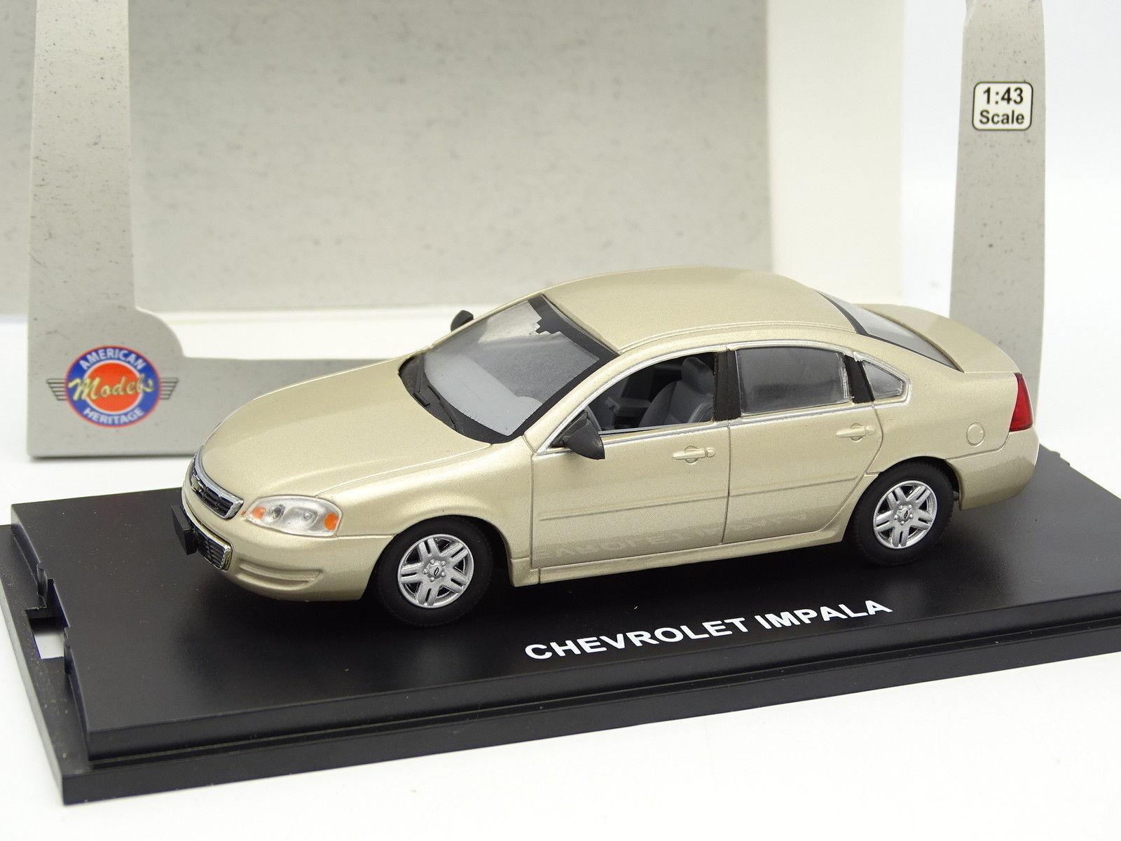 American Models Heritage 1 43 - Chevrolet Impala Beige Métal
