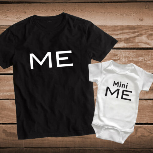 Me Mini Me Custom Tee Tees Matching T-Shirts Parents and Kids Outfits Tops, bb84