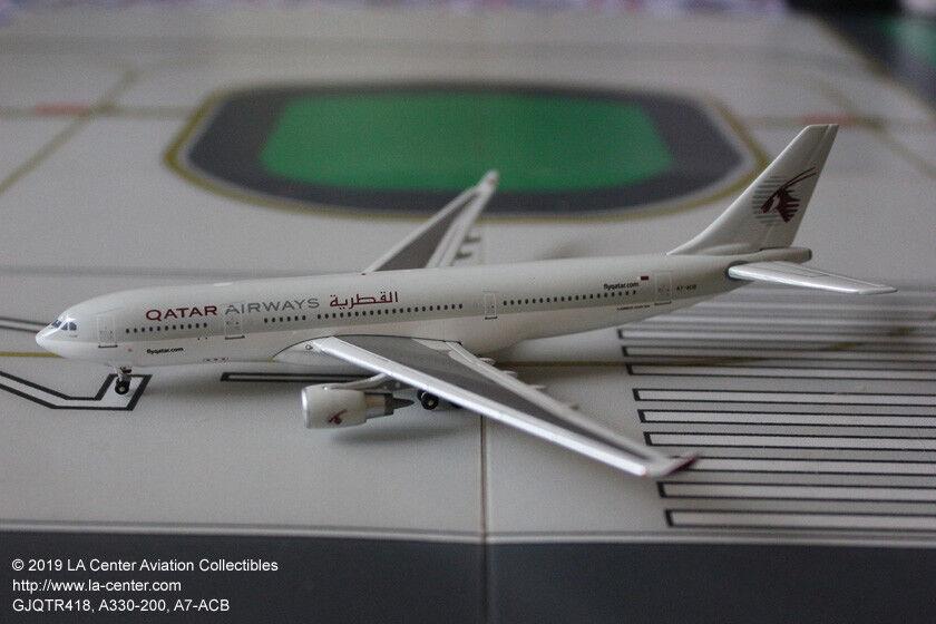 Gemini Jets Qatar Airways Airbus A330-200 en courant couleur DIECAST MODEL 1 400