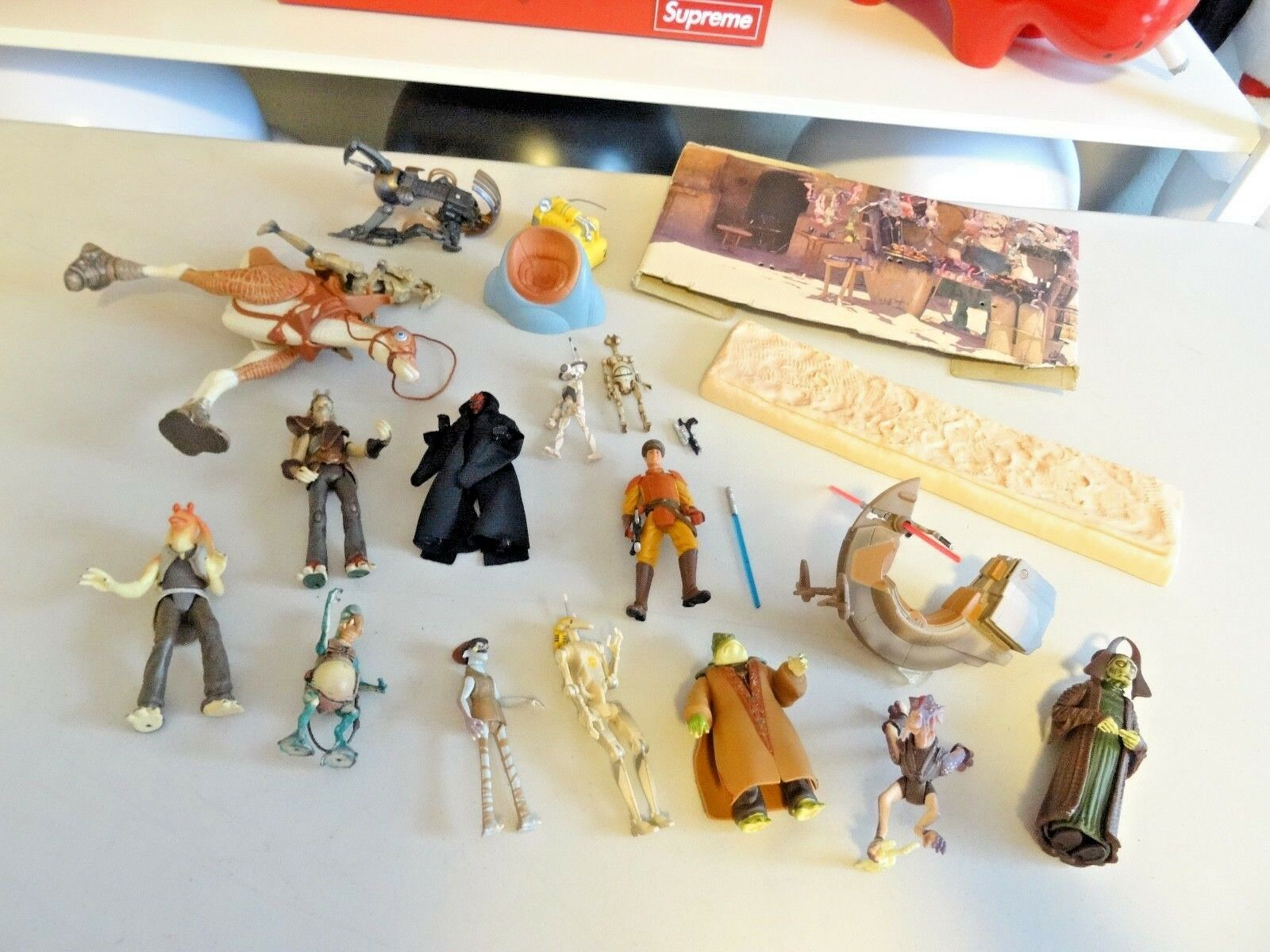 90'S HUGE LOT OF 20 estrella guerras Expeed Universe  3.5 PLUS DISPLAY Kenner N217  negozio all'ingrosso