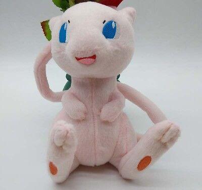 "2017 Mew DX Plush 7"" Pokemon Doll Tomy Soft and Cute"