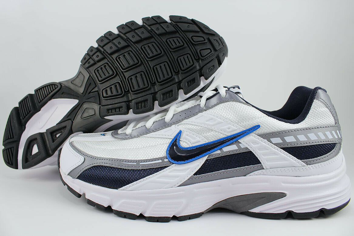 watch 7178d 10368 NIKE INITIATOR WIDE WIDTH E WHITE/OBSIDIAN NAVY BLUE/GRAY RUNNING US MENS  SIZES