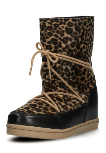 Buffalo Damen Schuhe Gefütterte Boots Innen-Keil Größe 36