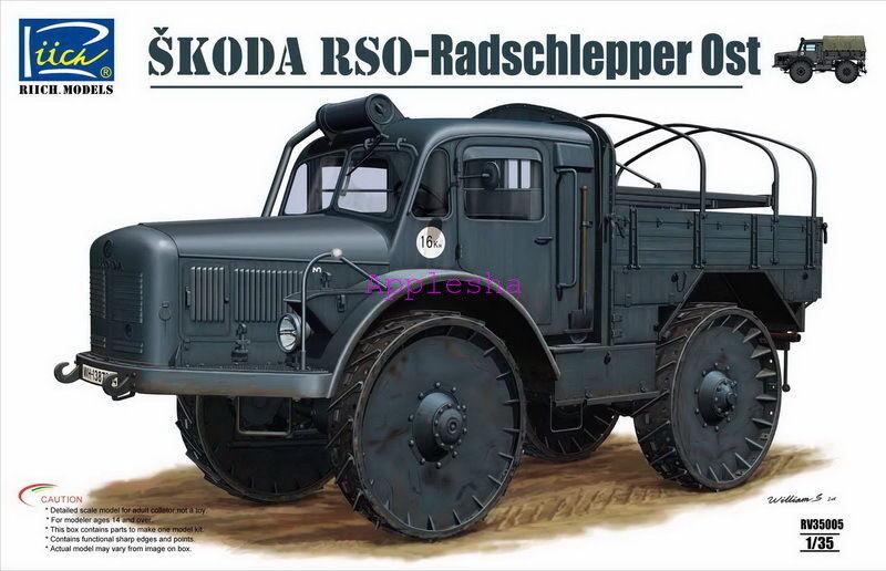 Riich RV35005 1 35 Skoda RSO Radschlepper Ost