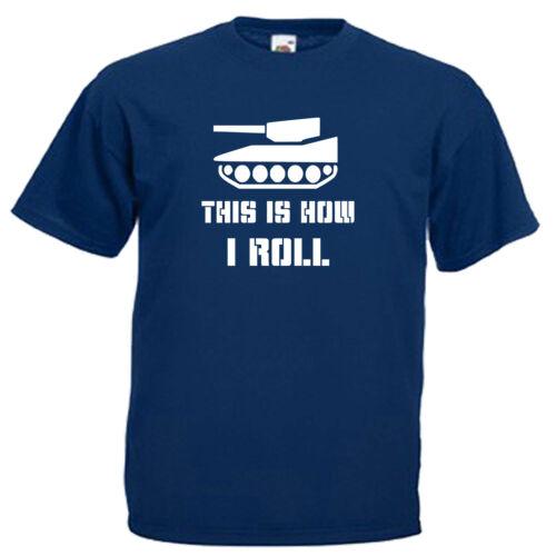 Tank Army Funny Slogan Children/'s Kids Childs T Shirt