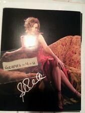 Sandra Bernhard Signed Autograph COA B