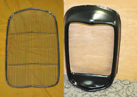1932 Ford Grill Shell Steel Original No Hole Hot Rod With Insert Stainless Rat
