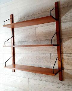 Shelf-Modular-Teak-Poul-Cadovius-Years-50-Royal-System-Gn193-New-Gift