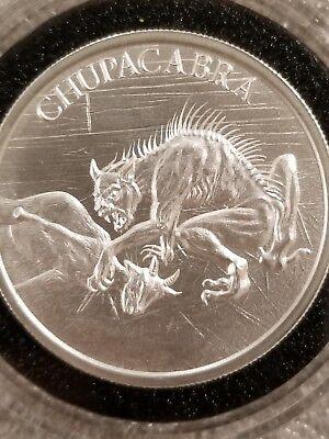 The Mermaid 1 oz .999 Silver BU Round Aquatic Folklore