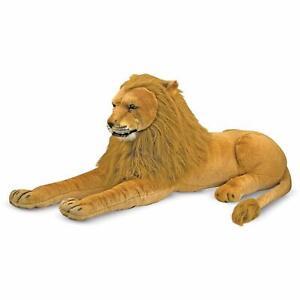 Melissa & Doug - Cadeau d'un animal en peluche avec lion géant pour enfants 2019/2020