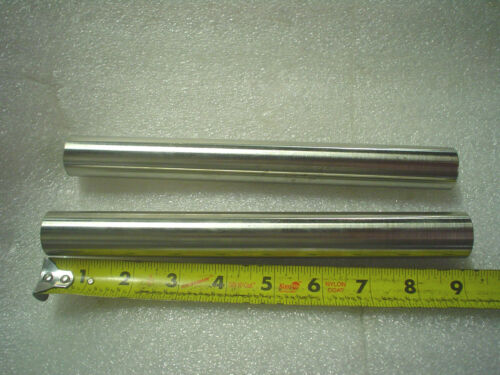 "Lot of 2 x 9/"" L Stainless Mounting Tube Videojet Marsh  1/"" O.D"