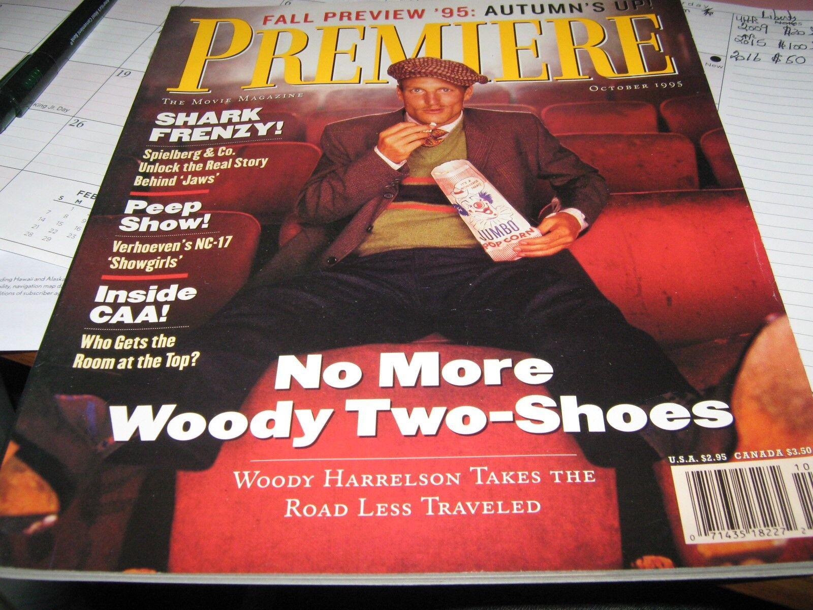 Woody Harrilson , Premiere Magazine , October 1995