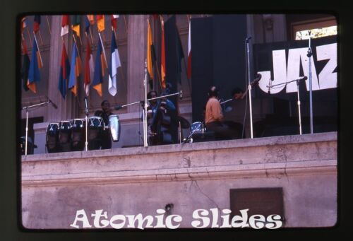 1969 amateur Photo slide Berkeley CA Jazz Festival #3 music Joe Zawinul