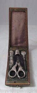 4pc-BOXED-SEWING-ETUI-Antique-European-Original-Sterling-Silver-Hallmarked