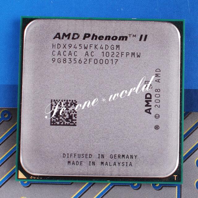 Amd Phenom Ii X4 945 3ghz Quad Core Hdx945wfk4dgm Processor For Sale Online Ebay