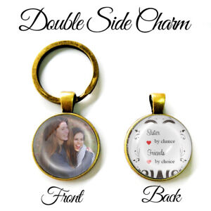 Personalised-Best-Friend-Photo-Keyring-Gifts-Birthday-Presents-Sister-by-Chance