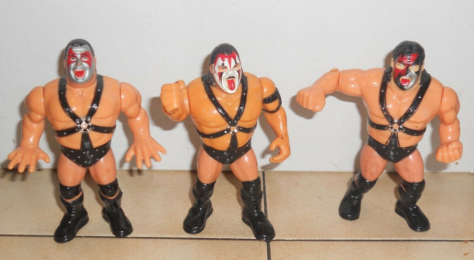 1991 Hasbro WWF Series 6 Demolition AX SMASH CRUSH Action Figures WWE WCW