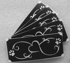 bm301 BODY GLITTERTATTOO 5x stencil infinity heart dog paws glitter tattoo L@@K