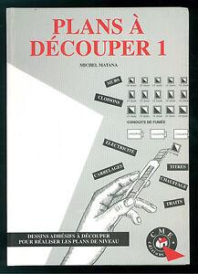 Matana Michel Plans A Decouper 1 Cme Editions Dessins Adhesifs A Decouper Niveau Performance Fiable