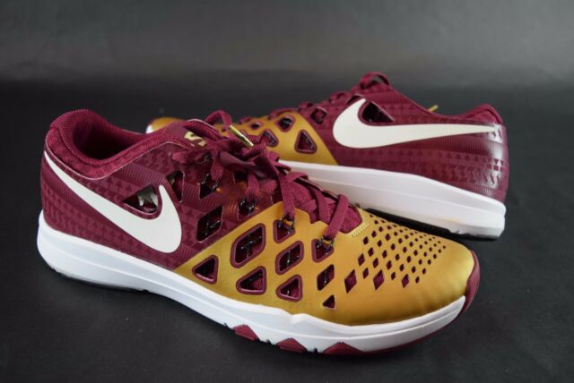 573d4a787cd4 New Mens Nike Train Speed 4 AMP 844102 617 sz 8.5-9.5 FLORIDA STATE  SEMINOLES