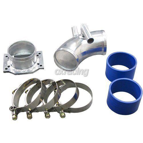 Cold Air Intake pipe kit For BMW E30 CXRacing Intake Piping MAF Flange