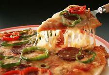 Mozzarella FUSO carne Pepper PIZZA Cafe cucina retaurant Poster Art Print