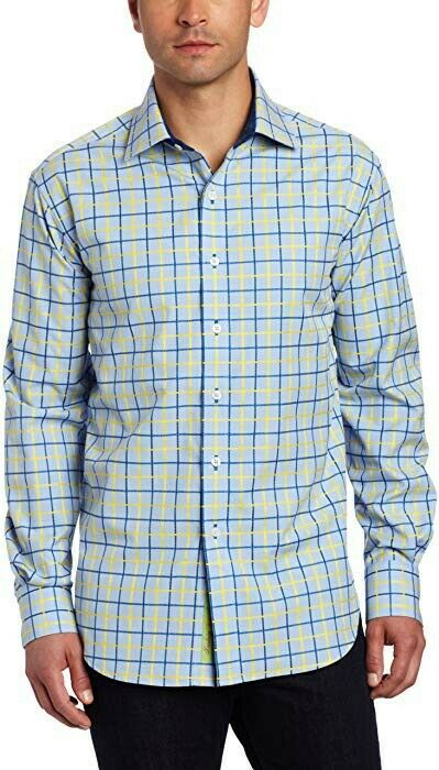 Robert Graham Men's Thomas Long Sleeve Woven Shirt Large Nwt
