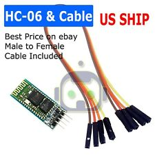 Hc 06 Bluetooth Wireless Rf Receiver Module Slave Mode Ttlrs232 For Arduino