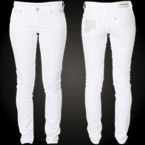 Affliction Tara Raquel Jeans White Damen gcq4rOaHg