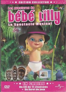 DVD-NEUF-LES-AVENTURES-DE-BEBE-LILLY-LE-SPECTACLE-MUSICAL-EDITION-COLLECTOR