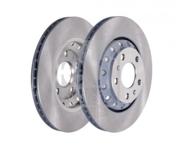 2x Bosch Bremsscheiben /ø260 Mm Set Hinten Bremsen Bremsanlage Brakes Scheibenbremse