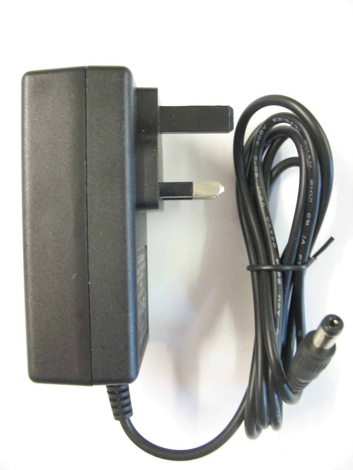 1 amp 24 volt AC-DC Mains Regulated Power Adaptor/Supply/Charger (24 watt)
