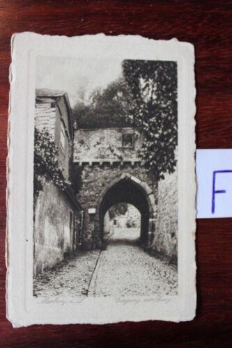 Postkarte Ansichtskarte Hessen Marburg Eingang zur Burg