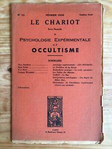 Le-Chariot-n-70-Fevrier-1936-revue-Occultisme-Astrologie-Philosophie