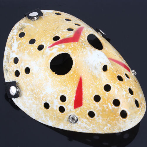 Freddy Costume Prop Horror Hockey Mask Friday The 13th Halloween Myers Jason VS