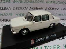 Voiture 1/43 IXO AUTO PLUS : RENAULT R8 1962 blanche