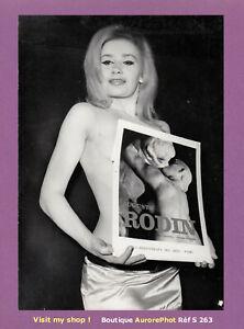 PHOTO-PRESSE-1967-DRUDA-DE-HAMBOURG-ELUE-MUSE-DE-RODIN-AU-CRAZY-HORSE-S263