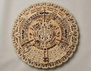 Details About Mayan Calendar Wall Calendar Wooden Mechanical Model 3d Wooden Puzzle