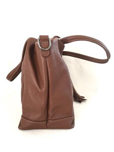 en Tote en Italia chocolate hecho mujer para Bolso nuevo marrón mano piel italiana auténtica de q78qIwgS