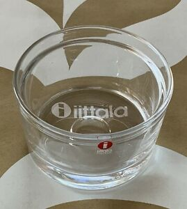 Iittala-Bowl-Konstantin-Grcic-Clear-90-mm-3-1-2-Inch-Rare-Collectible-NEW