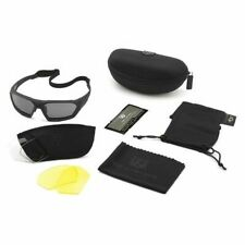 Revision Military 4 0750 0203 Ballistic Safety Glasses Wraparound Clear