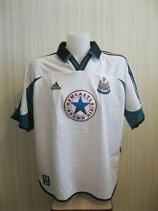 Newcastle-United-1999-2000-away-Size-XXL-Adidas-shirt-jersey-football-soccer-2XL