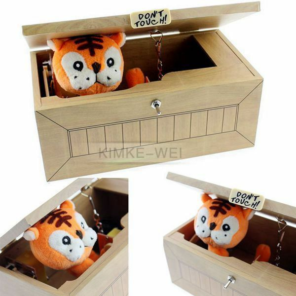 Useless Box Leave Me Alone Box Most Useless Machine Don/'t Touch Tiger Toy Gift