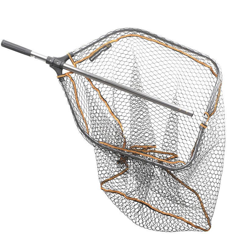 Savage Gear Pro Folding Rubber Mesh Landing Nets Predator Fishing