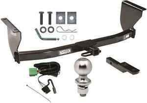 complete trailer hitch package w wiring kit fits 1999 2004 jeep grand cherokee ebay. Black Bedroom Furniture Sets. Home Design Ideas