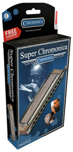 Hohner Chromonica II M-270 C-Dur - 48 Stimmen