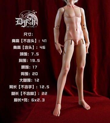 muscle BODY ONLY new style DF-H 1//4 MSD size boy doll 46cm super dollfie BJD