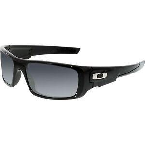 Oakley Crankshaft Black/Black Iridium Lens Sunglasses OO9239-01